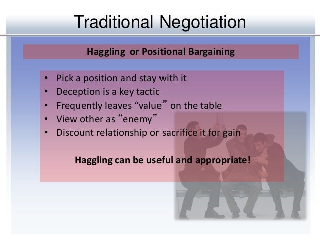 principled negotiation the value of trust essay Strategic leadership and decision making 13  , sometimes information of crucial value, to the other side  even with principled negotiation and trust, future.
