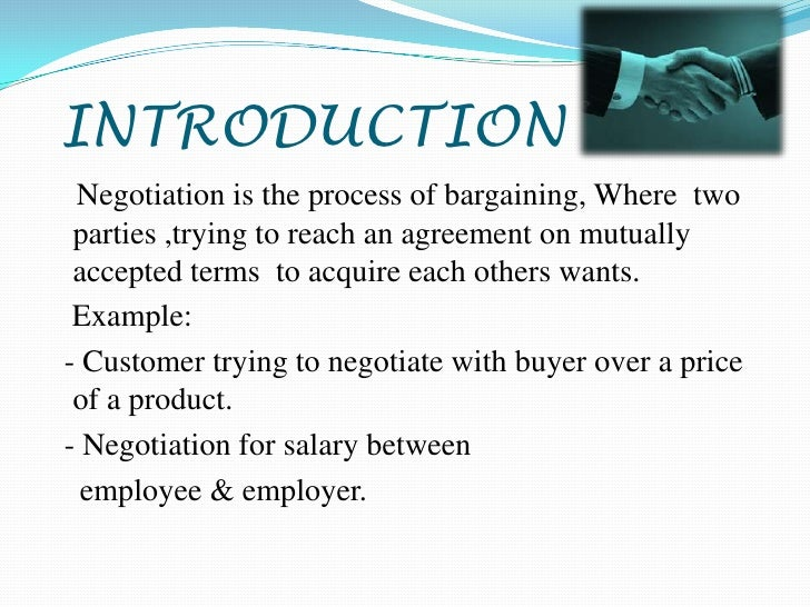 Pricing and contract negotiations anal