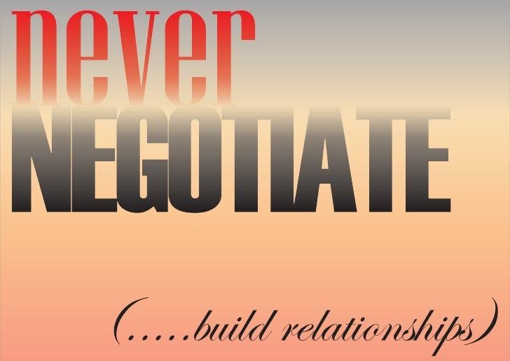 (.....build relationships)
