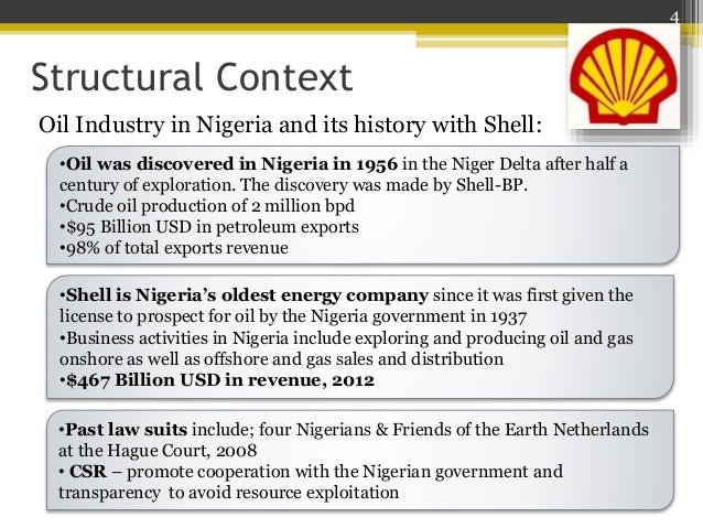 An introduction to the history of shell pil in nigeria