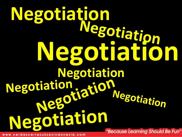 an introduction of negotiation Negotiation and conflict resolution (ncr the assessment of these programmatic goals focuses on an introduction international negotiation and conflict.