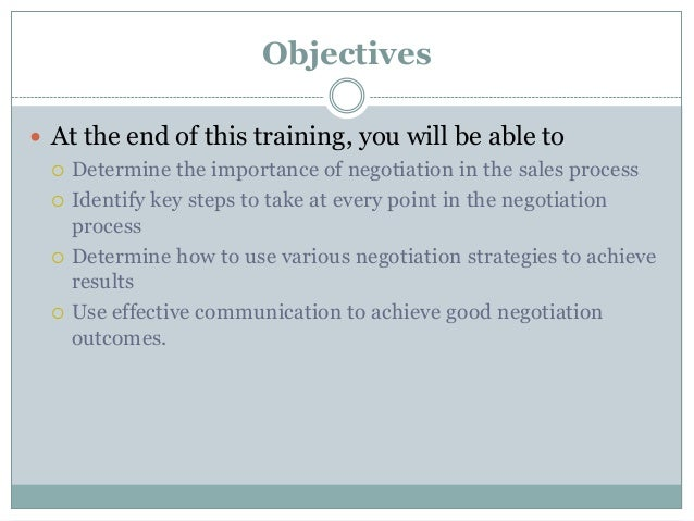 5 Effective Training Tips to Improve your Negotiation Skills