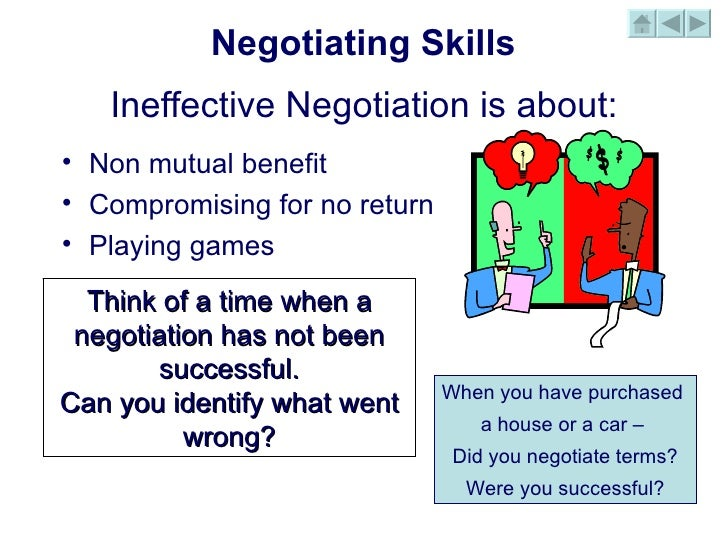 Top Ten Effective Negotiation Skills