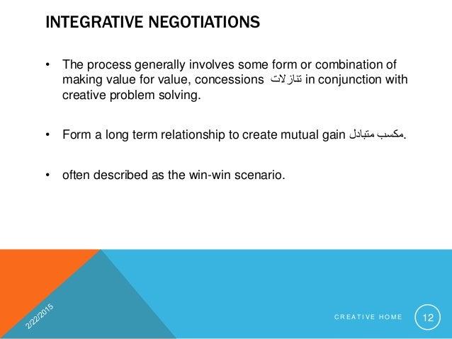 Write an explanatory note on negotiation skills