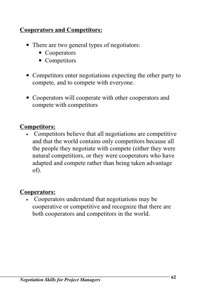 negotiation skills for project managers Infoau@esi-intlcom • +61 02 8999 9162 negotiation skills for project managers key topics negotiation fundamentals defining key negotiation terms.