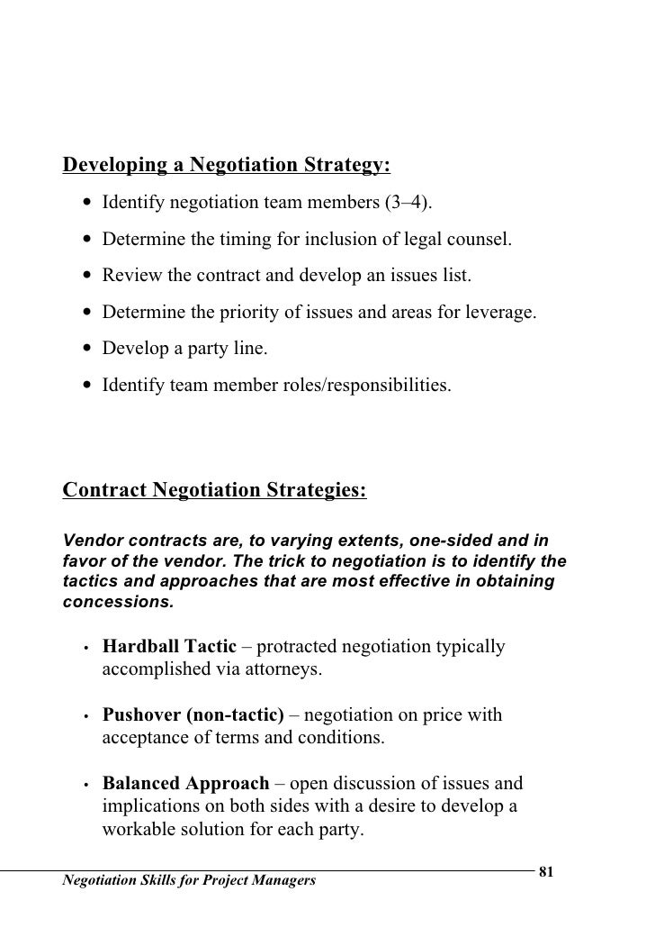 """negotiation skills assignment Negotiation skills assignment 10/28/2010 sofian dahshan negotiation skills 