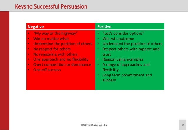 a discussion of negotiation and persuasion Training resources, exercises on persuasion skills for trainers  of view have a  conversation about a topic and learn something about it by listening to others   solving, goal setting, cooperation, negotiation and persuasion.