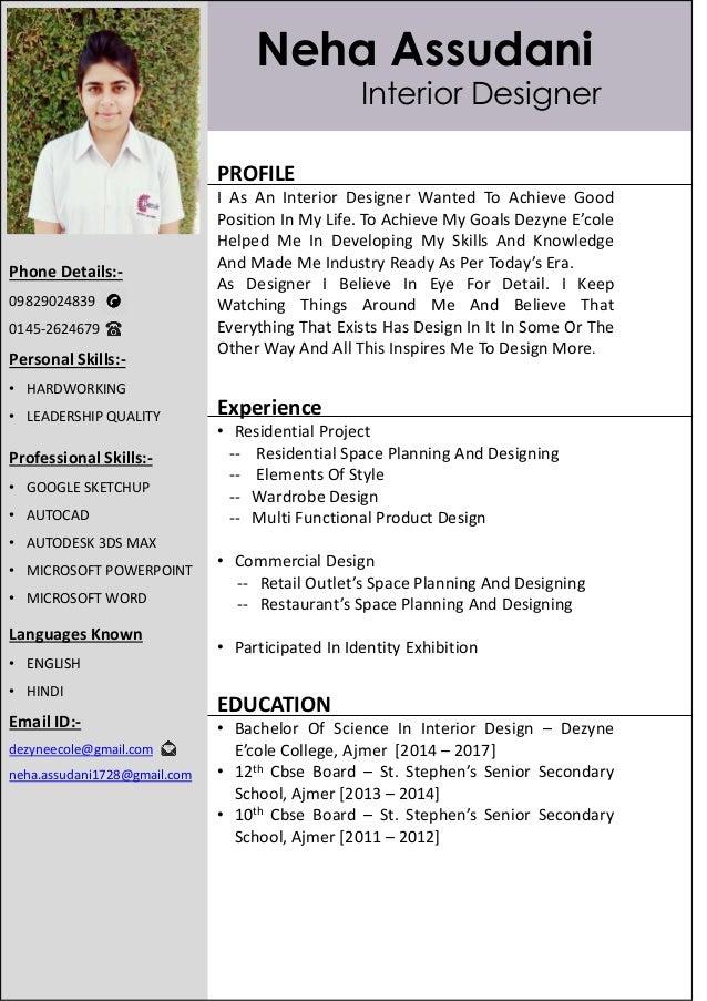 9. Neha Assudani PROFILE I As An Interior Designer ...