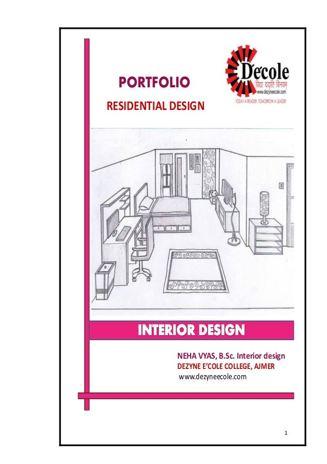 Neha B Sc Interior Design Residential Design