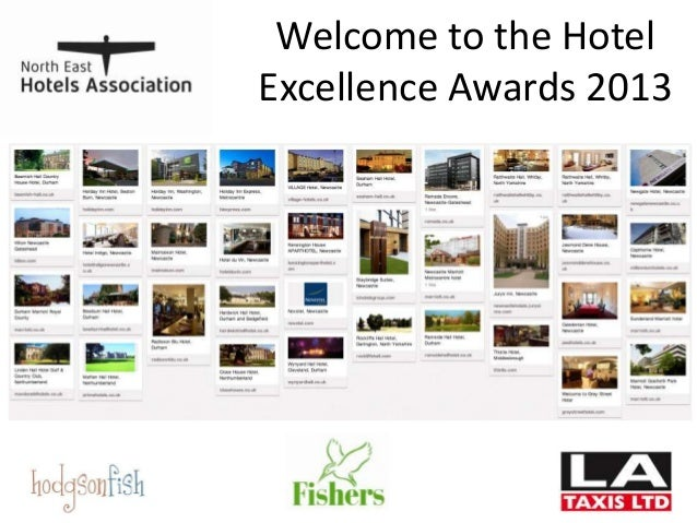 Welcome to the Hotel Excellence Awards 2013