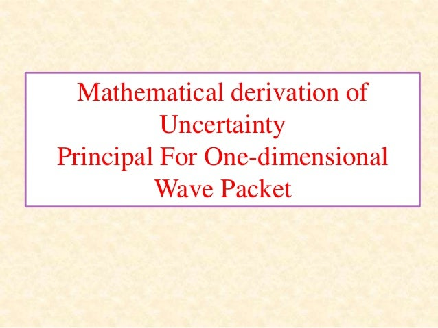 One dimensional wave equation derivation pdf