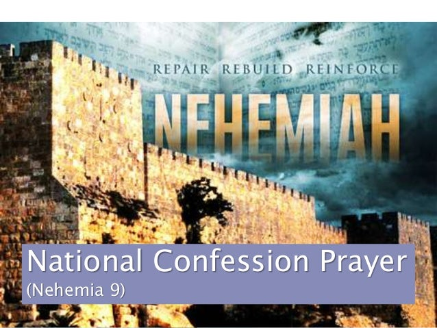 National Confession Prayer (Nehemia 9)