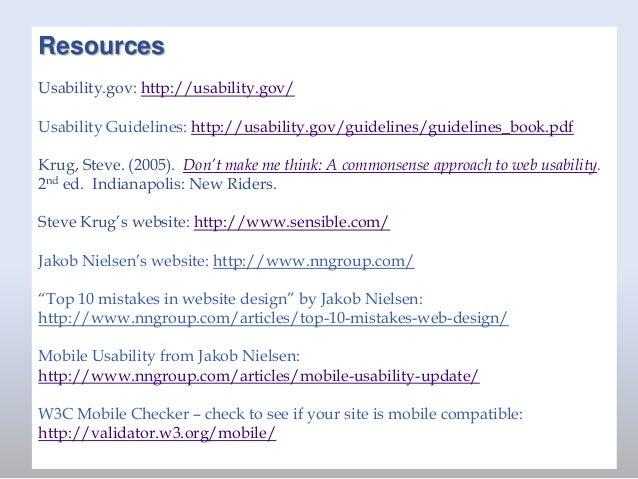 Websites That Work - NEHGS website usability presentation