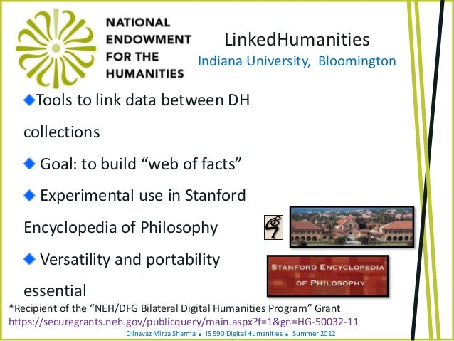 Discovery: National Endowment For The Humanities