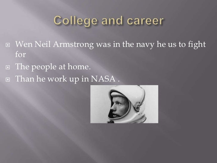 an introduction to the life of neil armstrong Unlike most editing & proofreading services, we edit for everything: grammar, spelling, punctuation, idea flow, sentence structure, & more get started now.