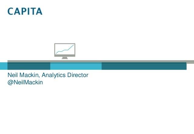 Neil Mackin, Analytics Director@NeilMackin