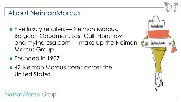 Neiman Marcus: Neiman Marcus's journey into the cloud with