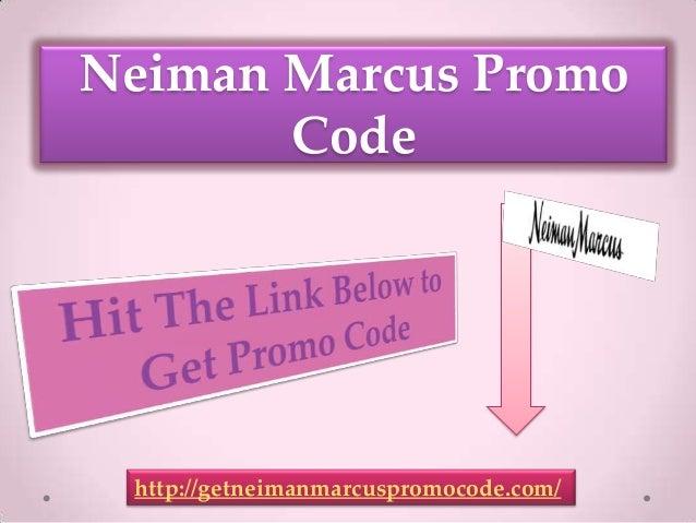 Neiman marcus promo code