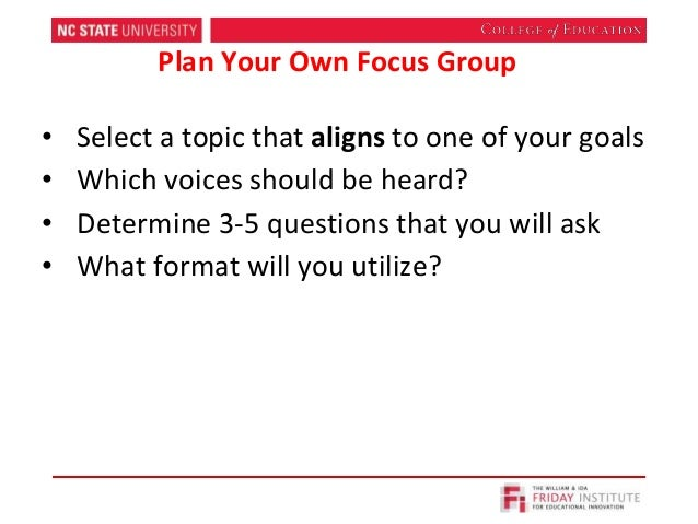 focus group discussion report pdf