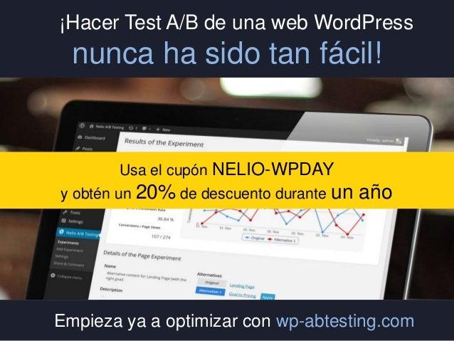 Test A/B en WordPress - Introducción a la Optimización de Conversiones