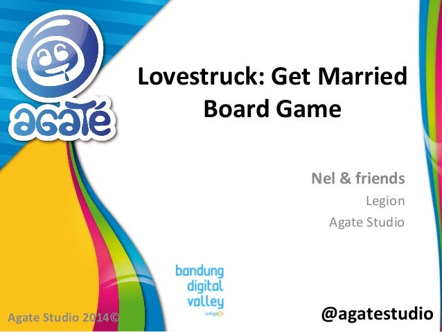 @agatestudio Lovestruck: Get Married Board Game Nel & friends Legion Agate Studio Agate Studio 2014©