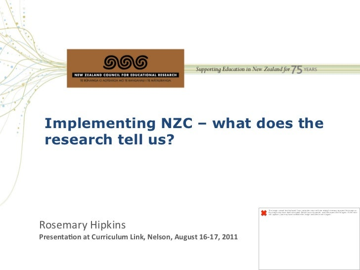 Implementing NZC – what does the  research tell us?                                                                       ...