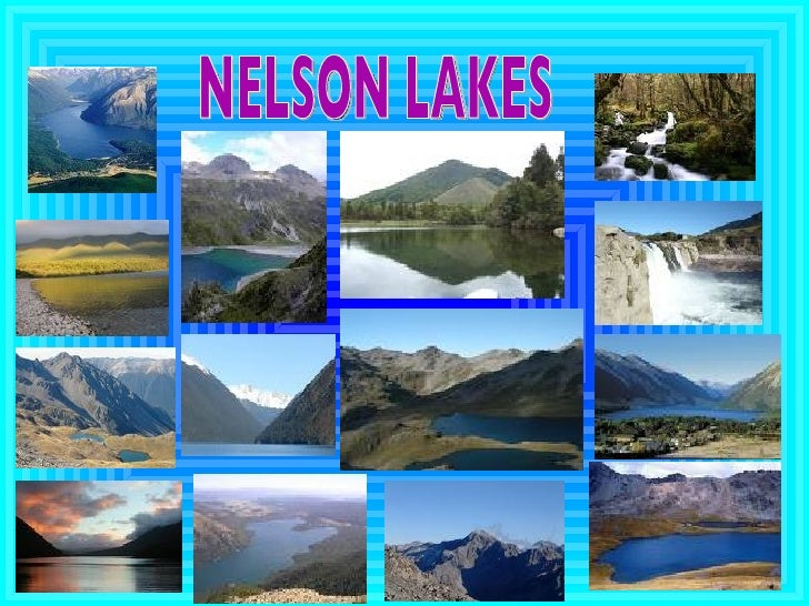 NELSON LAKES                         ...