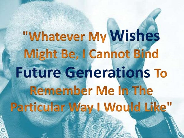 Wishes Future Generations