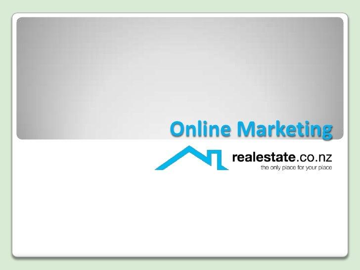 Online Marketing<br />