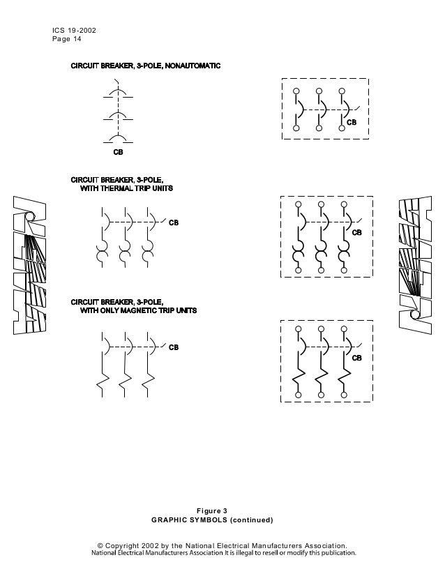 nema wiring symbols