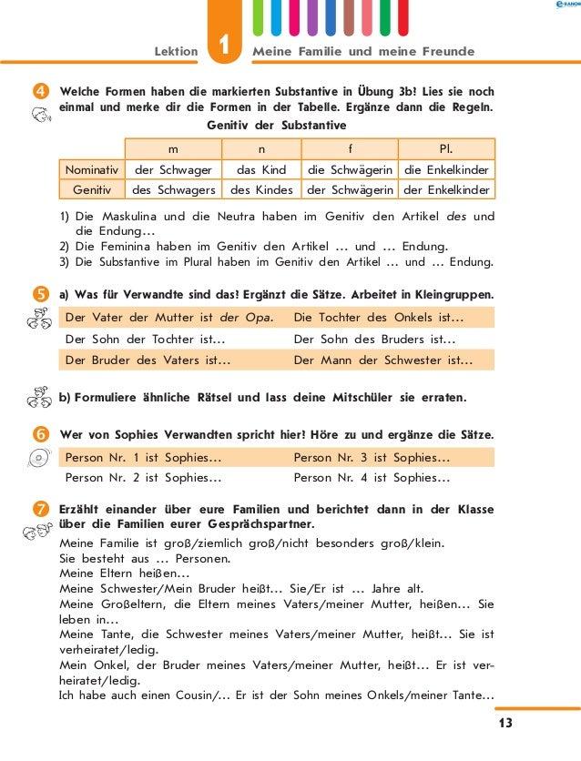 Unique Substantive Einer Tabelle Für Den Kindergarten Elaboration ...
