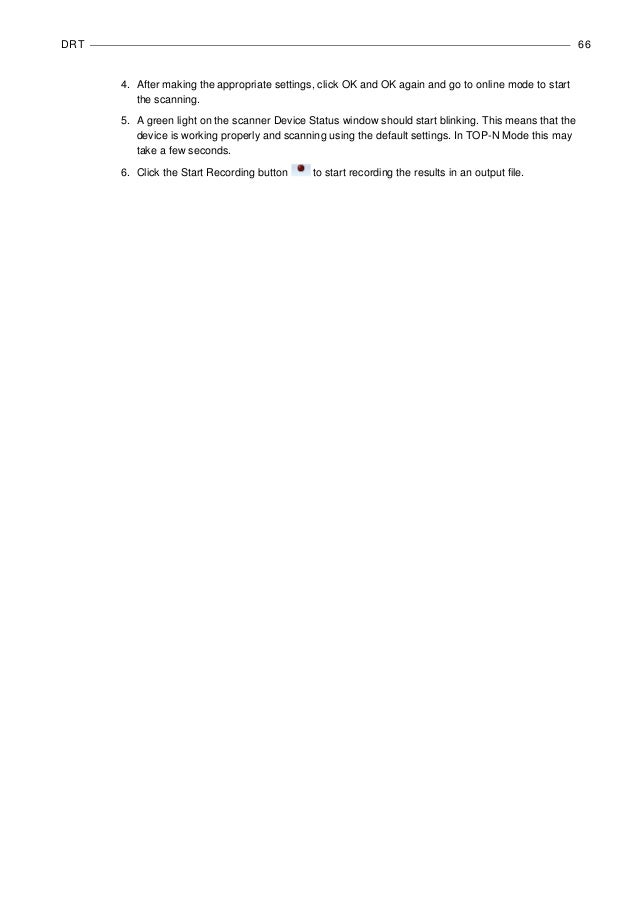 Nemo fsr1 scanner user manual