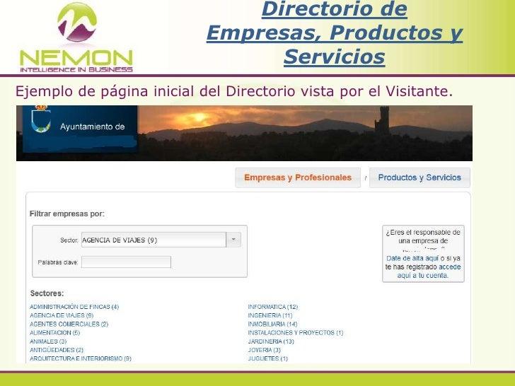 Nemon directorio de empresas productos y servicios for Listado de empresas malaguenas