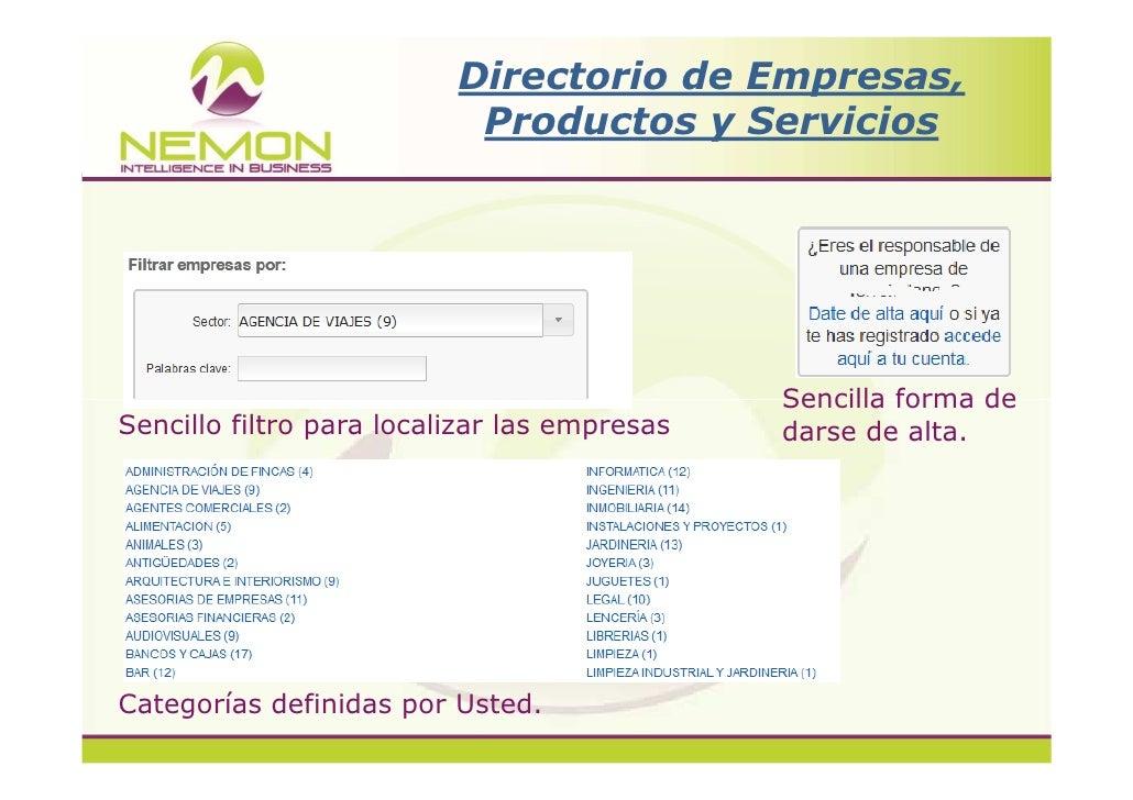 nemon directorio de empresas productos y servicios On directorio de empresas df