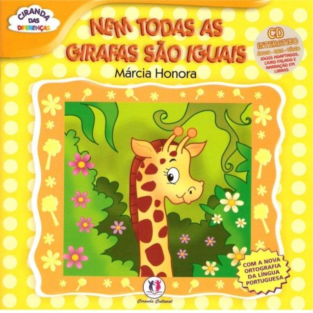 Nem todas as girafas são iguais