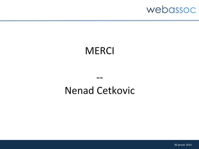 MERCI      -‐-‐   Nenad  Cetkovic    30  janvier  2014