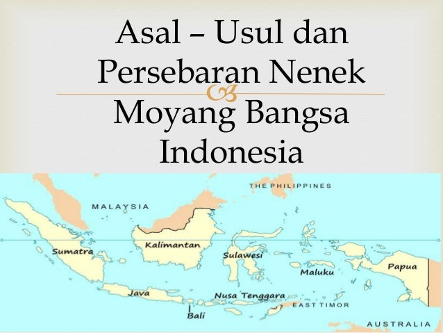 Nenek moyang bangsa indonesia by :ufi Slide 3