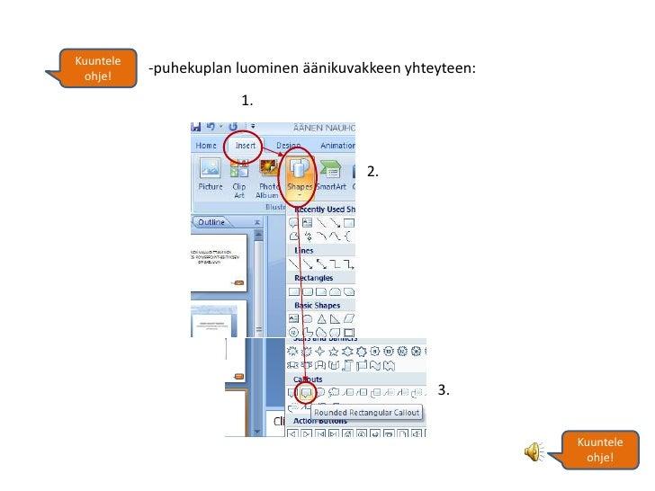 Powerpoint Ohje