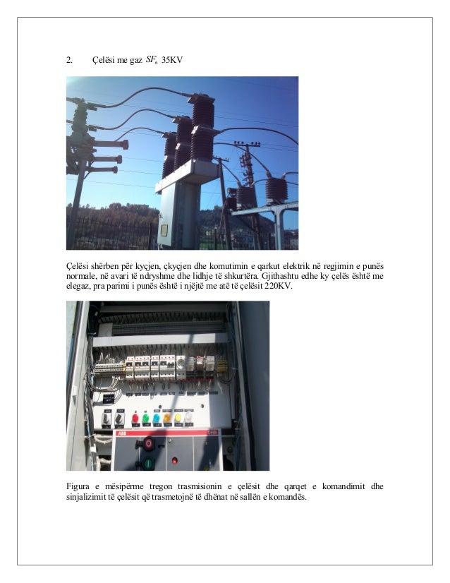 2. Çelësi me gaz 6SF 35KV Çelësi shërben për kyçjen, çkyçjen dhe komutimin e qarkut elektrik në regjimin e punës normale, ...
