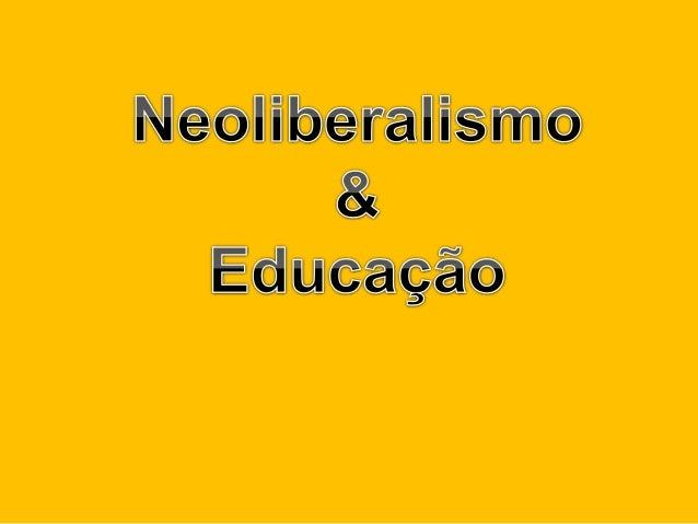 Para entendermos o Neoliberalismo, primeiramente precisamos entender o Liberalismo.