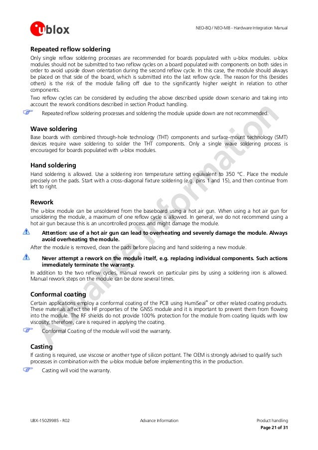 neo m8 hardware integration manual