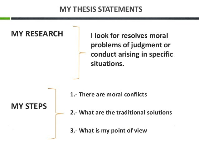 moral judgment thesis Mortal morality: how threat and partisanship influence moral judgment a thesis by charles scott bell december 2012 approved by.