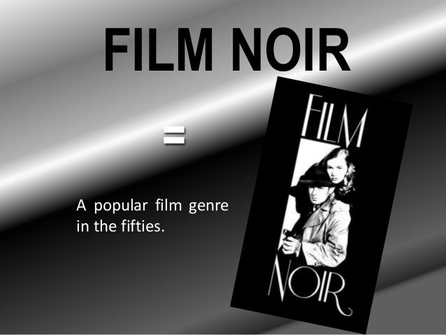 film noir genre essay In his essay, notes on film noir, paul schrader, who wrote the taxi driver screenplay, outlines his view of film noir as a genre schrader discusses the.