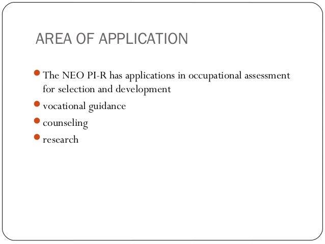 neo pi 3 interpretation