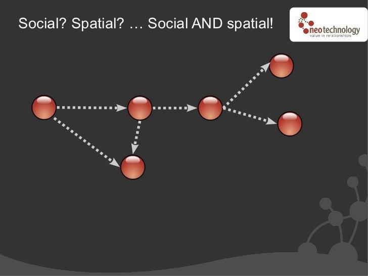 Social? Spatial? … Social AND spatial!