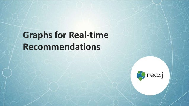 Graphs for Real-time Recommendations