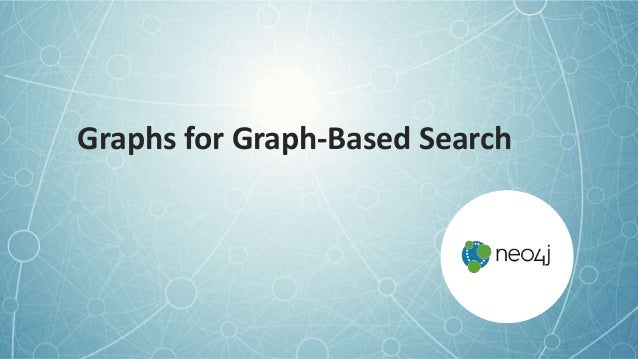 Graphs for Graph-Based Search