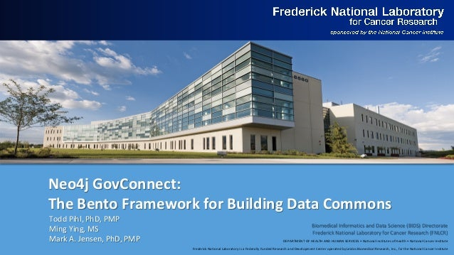 DEPARTMENT OF HEALTH AND HUMAN SERVICES • National Institutes of Health • National Cancer Institute Frederick National Lab...