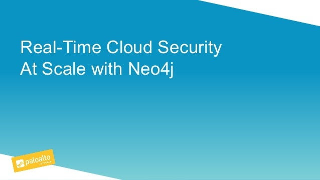 Real-Time Cloud Security At Scale with Neo4j