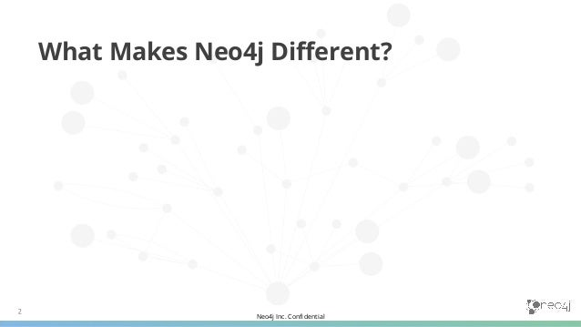Neo4j Inc. Confidential 1. A Historical Perspective